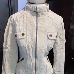 Corduroy vintage Forever 21 moto style jacket